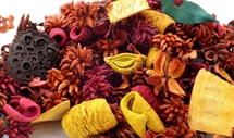 Hand Blended Pot pourri Earth Fruits