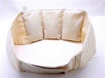 Hot Belt, Wheat Bag, Ideal for lower back, with Lavender Essential Oil, larger size to fit waist up to 52""