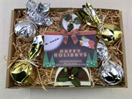 Christmas Gift Tray - Chocolate & Cinnamon & Orange Bath Blitzers