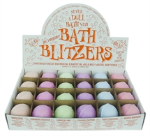 Bath Blitzers  Large 70 mm , Display box of 24 Fresh & Fruity collection