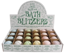 Bath Blitzers  Large 70 mm , Display box of 24 Perfume collection