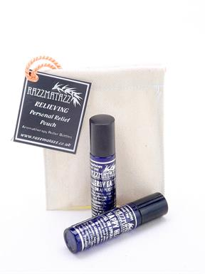 Aromatherapy Roll on Massage Blend Relieving  twin pack