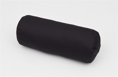 "Yoga Bolster Cushion  20"" x 8"" in Gaberdine Fabric,Organic Kapok filled"