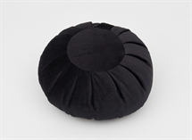 Zafu Meditation Cushion Round in Moleskin Fabric