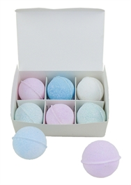 Bath Blitzers  Medium 62 mm , Box of 6 assorted  Aromatherapy collection