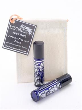 Aromatherapy Roll on Massage Blend Foot Care twin pack