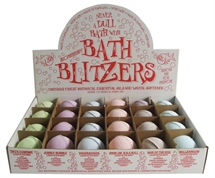 Bath Blitzers  Large 70 mm , Display box of 24 Laugh in the Bath collection