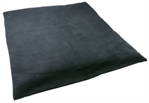 Zabuton Buddhist  Meditation Mat /Yoga /Pilates   in Moleskine  Fabric