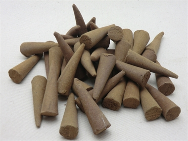 "40 Giant 2"" Incense Cones Honeysuckle  , British made ,Top value quality"