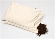"Set of Two Organic Buckwheat Pillows, Large Size 28"" x 17"" (71cm x 43cm)"